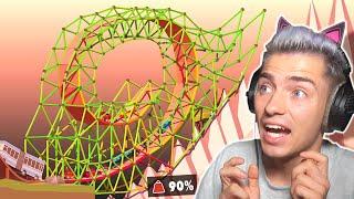 Mexify baut eine UNLOGISCHE Looping Brücke