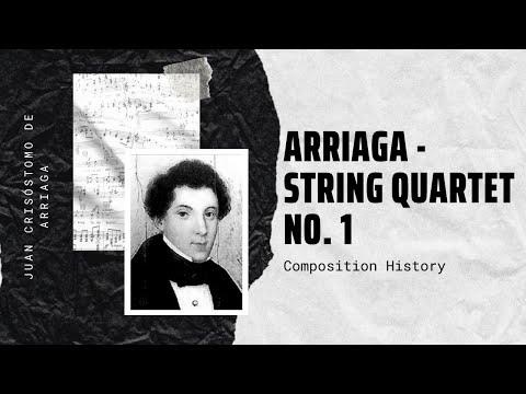 Juan Crisóstomo de Arriaga - String Quartet No. 1 in D minor