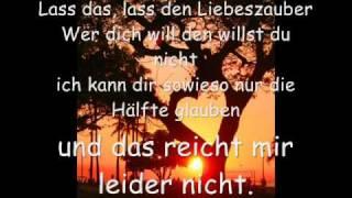 Yvonne Catterfeld-Du sagst es nicht (lyrics)