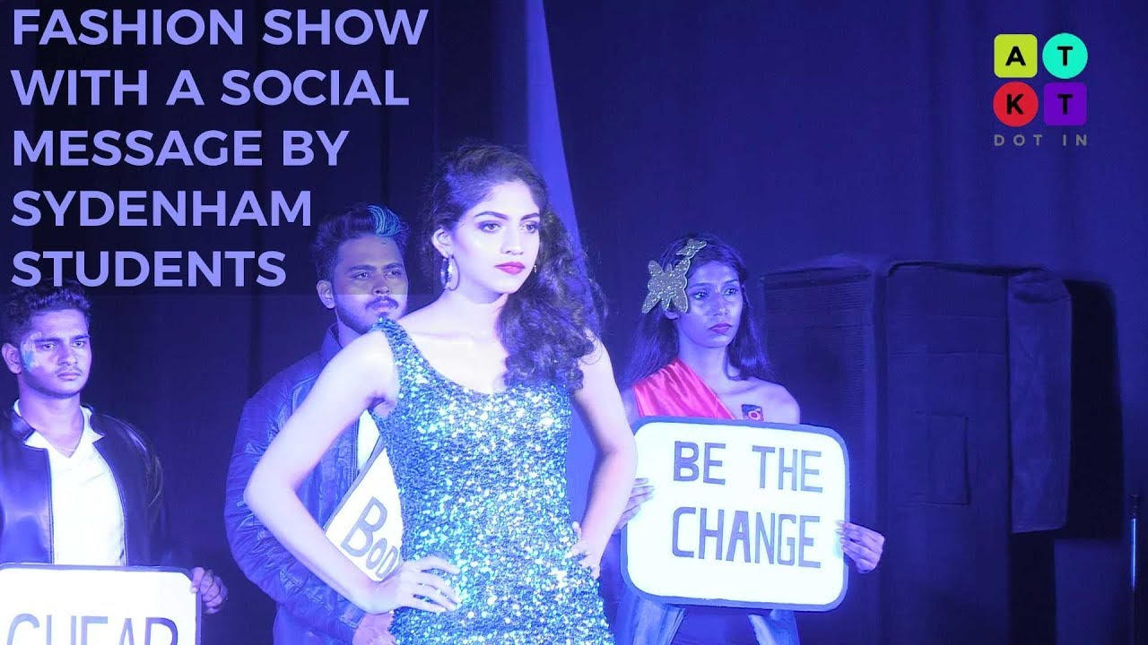 Fashion Show with a Social Message by Sydenham College Students