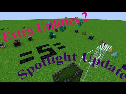 Extra Utilities 2 Spotlight Update (Quantum Quarry, Deep Dark, Spikes, Wireless RF)