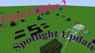 Extra Utilities 2 Spotlight Update (Quantum Quarry, Deep Dark, Spikes, Wireless RF)