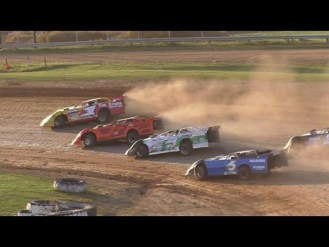 RUSH Crate Late Model Heat Three | McKean County Raceway | Fall Classic | 10-15-16