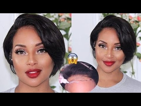I Tried A Short Pixie Wig For $99?! 😱 Ft. WowAfrican