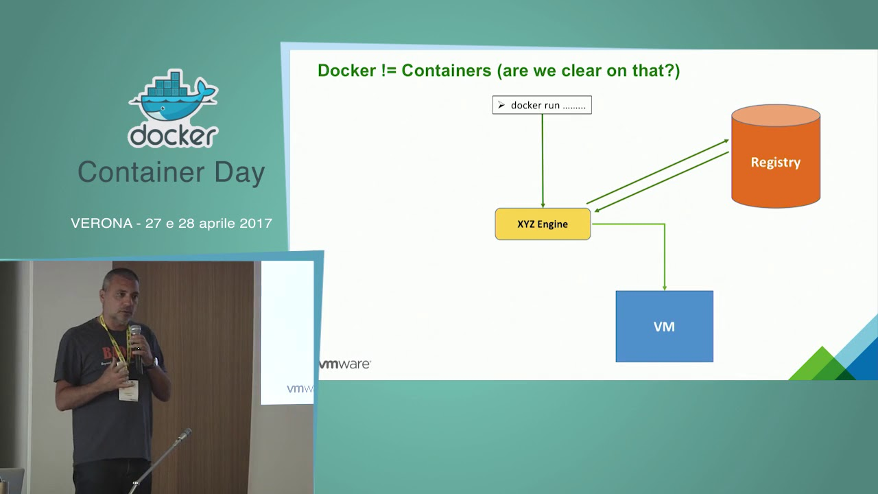 Container Day 2017 - Massimo Re Ferre - Images, Containers and VMs: put  them into a blender