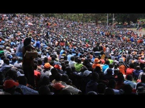NASA GRAND RALLY: Raila Odinga's last rally before 8th-August-Polls
