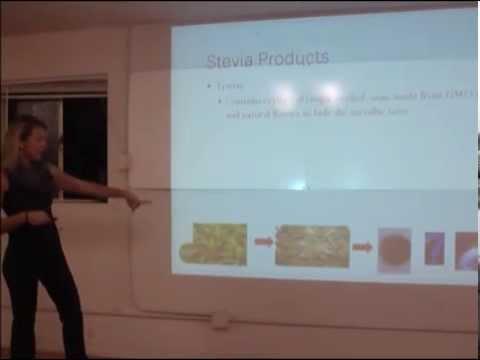 Margaux Neveu - Stevia (Artificial Sweeteners Clinic 2/5/14)