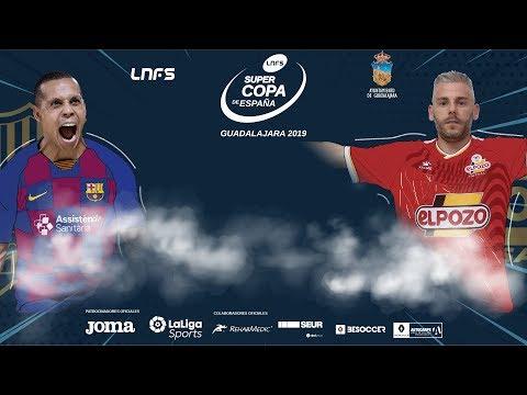 Supercopa de España 2019: Barça Vs ElPozo Murcia (Previa)
