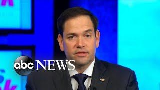 Rubio: Trump pardoning Manafort 'could trigger a debate about' pardon power