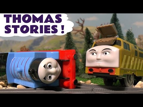 Thomas & Friends Stories of Toy Trains Accidents Paw Patrol Surprise Eggs compilation ToyTrains4u