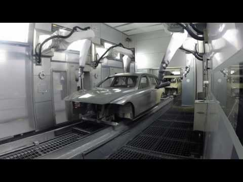 Paint shop BMW Group plant in Munich | AutoMotoTV