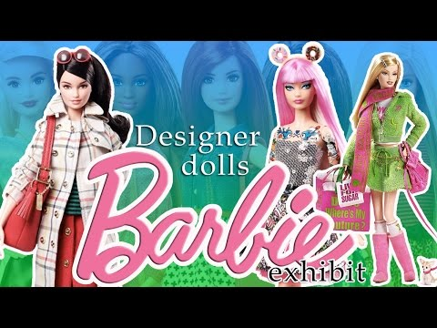 Barbie Designer Dolls 2015 Collection Exhibition Show | Kids Play O'clock