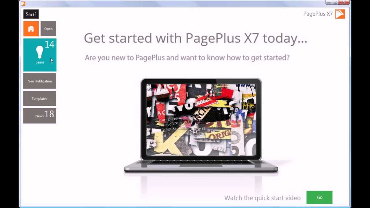 Serif PagePlus X7 - What\'s New - The Best Is Now Even Better! - YouTube