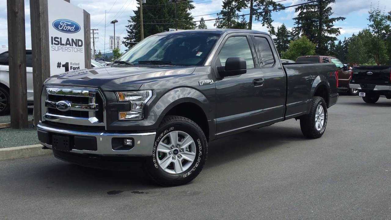2016 ford f 150 xlt supercab 4x4 8 box review island ford youtube