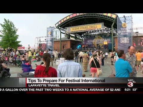 Lafayette Travel provides tips for navigating Festival International