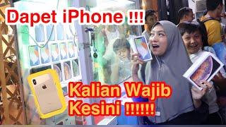 Rela Ngantri Demi Main Mesin Capit isi iPhone Xs Max  !! GIVEAWAY thumbnail