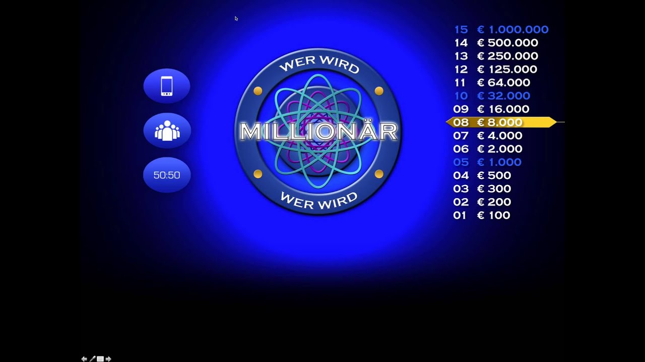 Wer Wird Millionär Layout