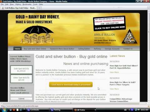 Places to buy Silver