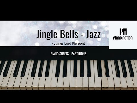 Jingle Bells - Jazz Piano Solo (Free Christmas Sheet Music)
