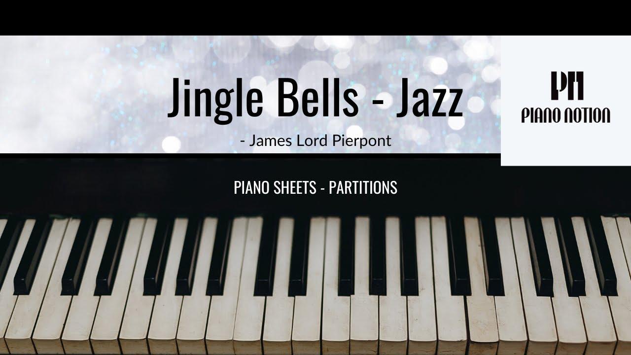 Jingle Bells - (FREE Jazz Christmas Piano Sheet Music) Inspired by Jacob Koller - YouTube