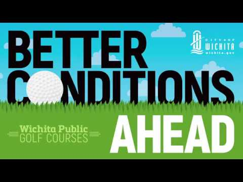 Wichita Public Golf Courses Better Conditions Ahead