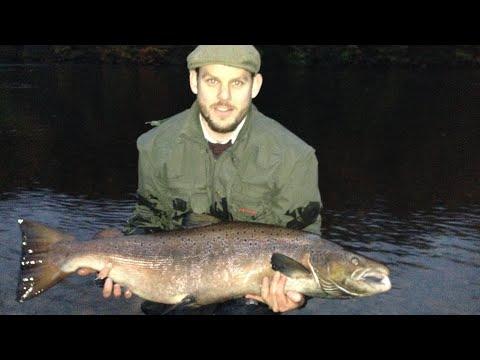 34 Lb Salmon . Dunkeld House Fishings