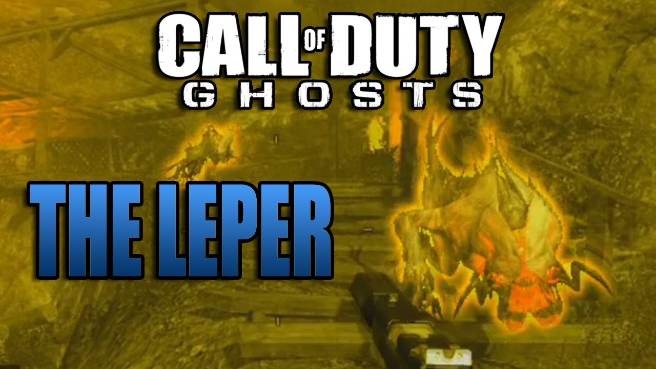 call of duty ghosts extinction leper