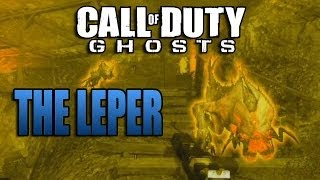 COD Ghost - How To Find  and Kill The Leper - Extinction Mode