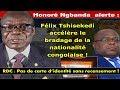 URGENT!!! Honoré Ngbanda Alerte : Félix Tshisekedi Accélère le Bradage de la Nationalité Congolaise ( vidéo )