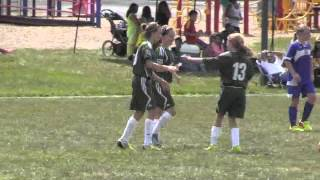 MSC U11 girls at Capital Cup short version (Labor Day weekend 2013)