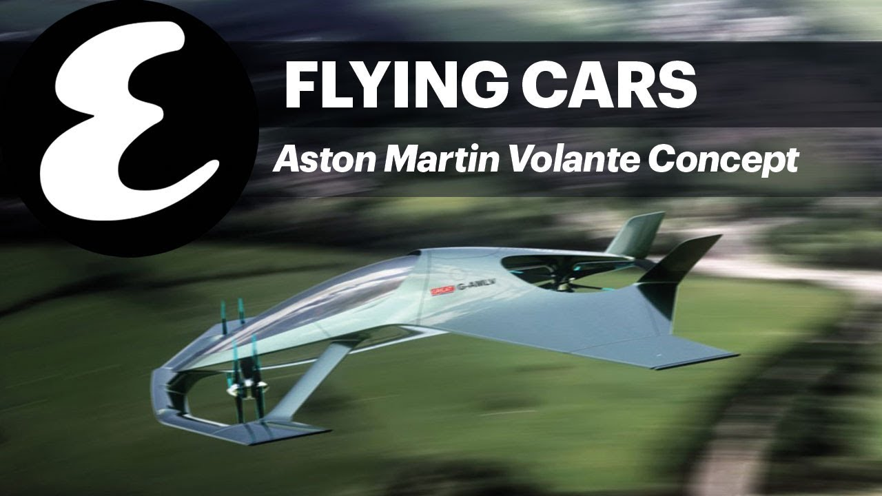 Aston Martin S Flying Car Concept Esquire Daily Youtube