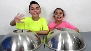 Chocolate Food vs Real Challenge ! Family Fun Video720p