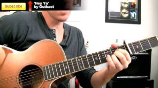 How to play I'm Yours on guitar ☮ Jason Mraz Beginners Chords Guitar Lesson Pt.2
