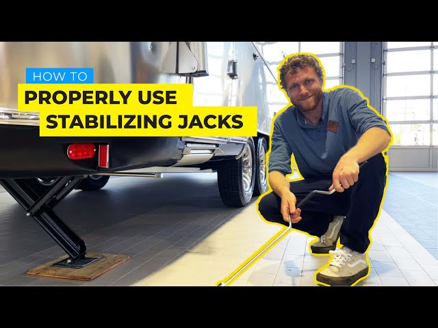How To Properly Use Your Stabilizing Jacks On Your Airstream Trailer   DO NOT USE FOR LEVELING!