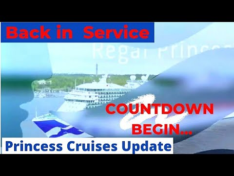 """Download Princess Cruises Update #9 """"Back in Service"""""""