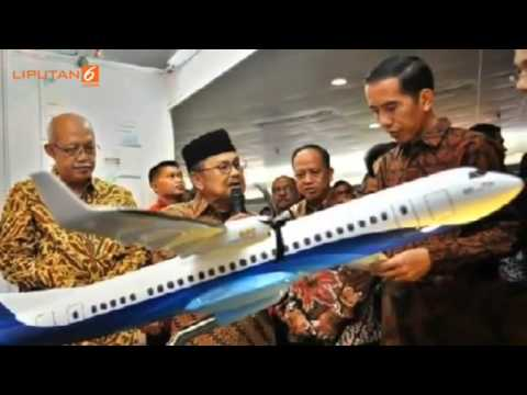 The Best Aircraft R80 on its class, designed by B.J Habibie