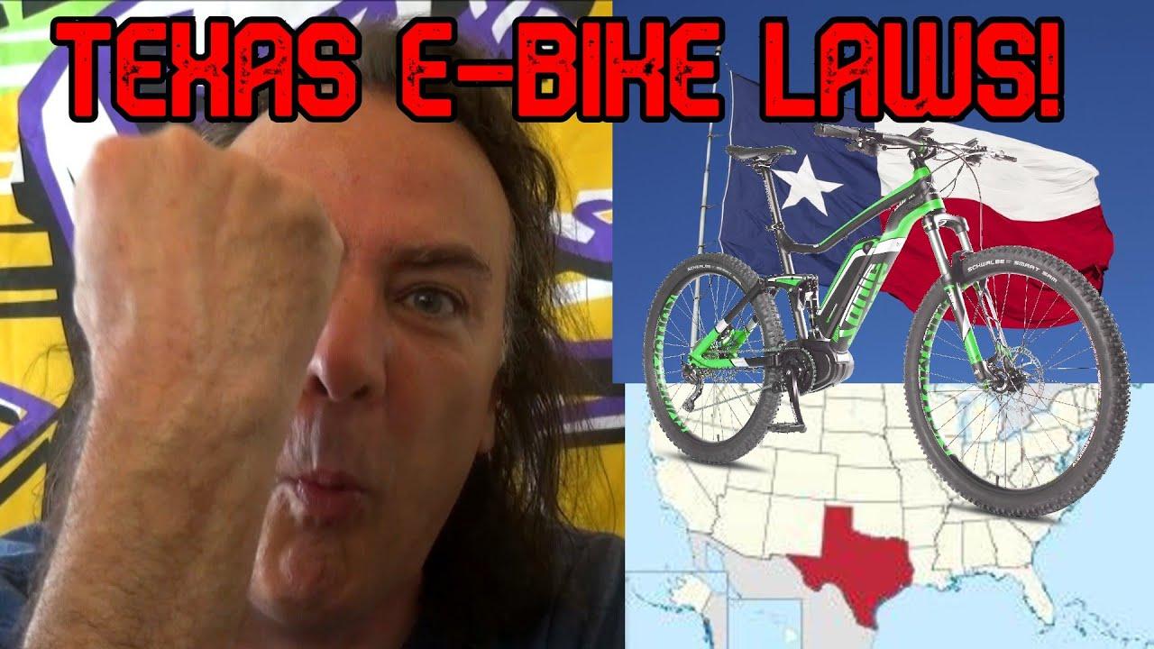 Texas State eBike Laws!   GreenMotion E-Bikes