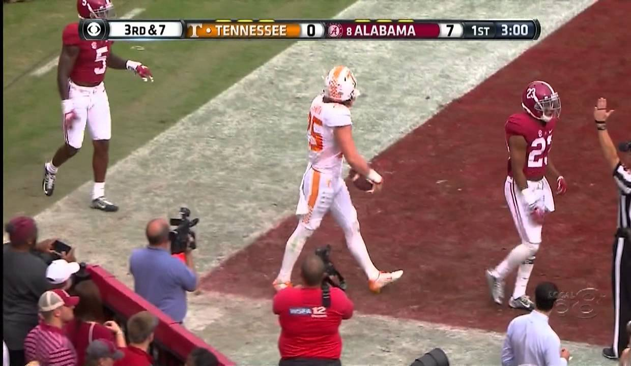 Tennessee football: Caleb Calhoun's Week 4 SEC, top 25 picks