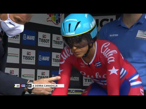Arlenis Sierra en Ciclismo Mundial de ruta Imola 2020