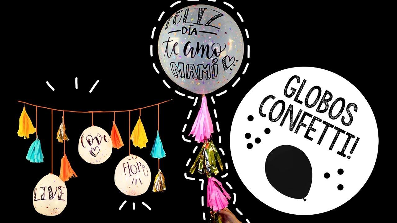 Globos Confetti Con Y Sin Helio Barbs Arenas Art