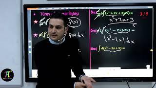 İntegral 1( Belirsiz İntegral 1) (Diferansiyel Kavramı, Türev İntegral İlişkisi) I Ali Ahsen Akti