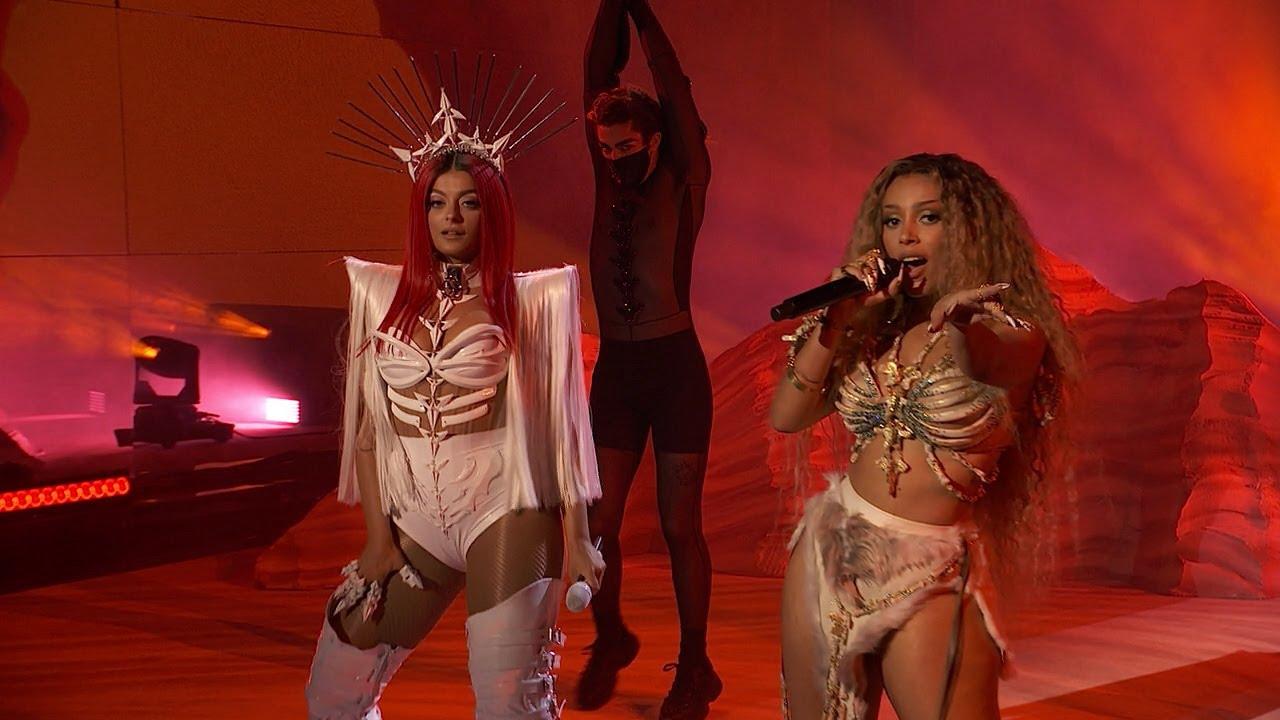 Bebe Rexha - Baby, I'm Jealous (ft. Doja Cat) [LIVE at the American Music Awards 2020]
