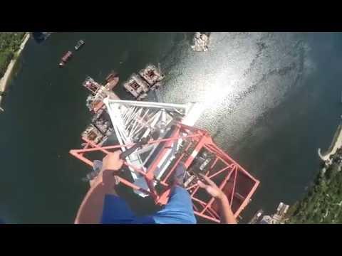 Шалені Карлсони - Кран в Запоріжжі 200м [как это было]