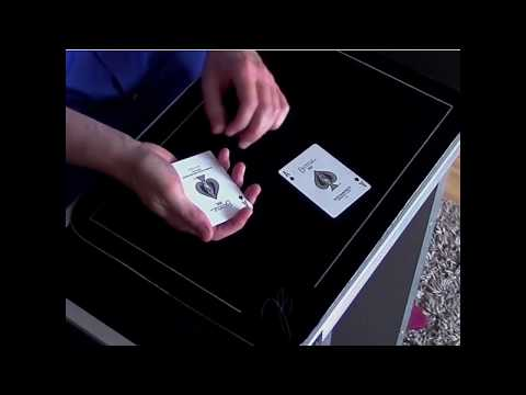 Jono Blythe, Close-Up Magician - Card trick with jokers and aces :)