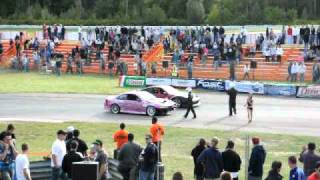 DmcC Drifting Round 6 Winner Marc Landreville hits Tire Wall!(Best Victory Lap Ever!) thumbnail