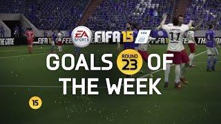 FIFA 15 - Best Goals of the Week - Round 23