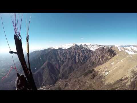 Paragliding Bassano Del Grappa / 2017 March