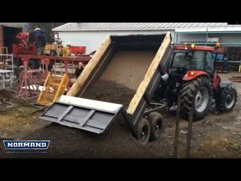 Remorque monocoque 869 / 869 Monocoque dump trailer
