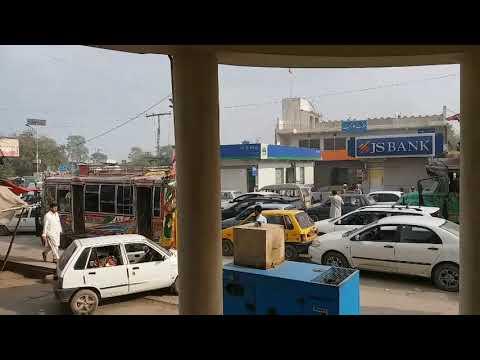 Traffic Jam for 2 Hours In Peshawar Karkhano Market 2018.