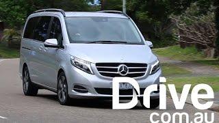 Mercedes-Benz V250d New Car Review | Laufwerk.com.au